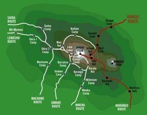 Rongai Map